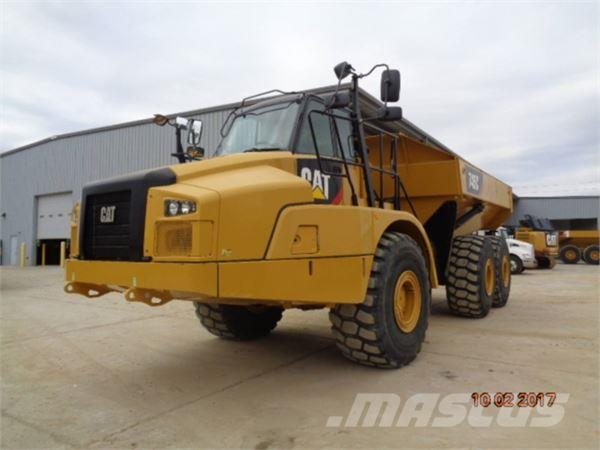 Caterpillar 745C, 2015, Articulated Dump Trucks (ADTs)