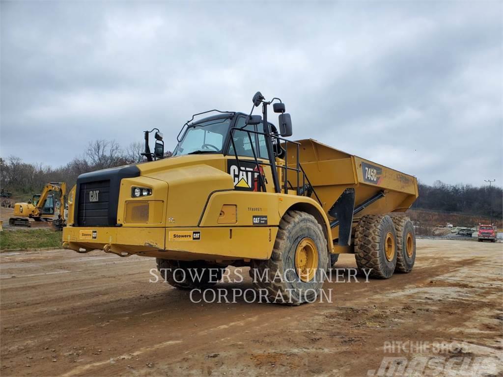 Used Dump Trucks >> Caterpillar 745c