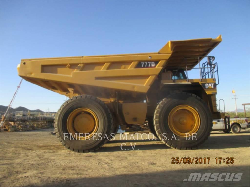 Used Caterpillar 777 D Articulated Dump Truck Adt Year