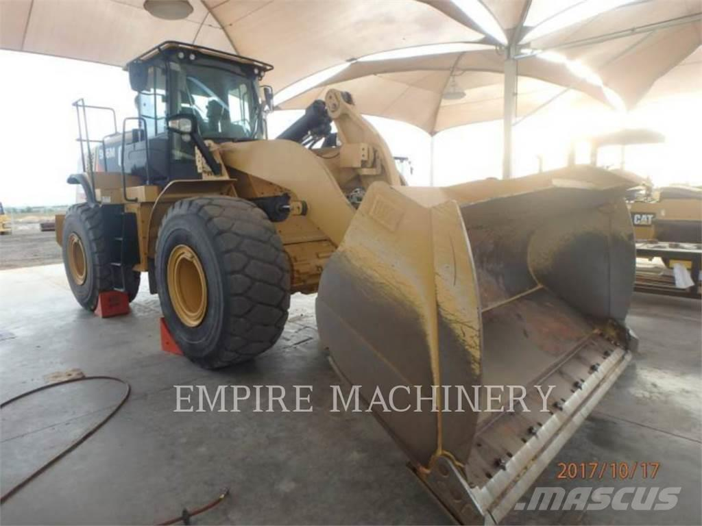 Caterpillar 966M, 2014, Wheel loaders