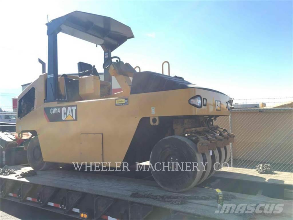 Caterpillar CW14, 2015, Pneumatic tired rollers