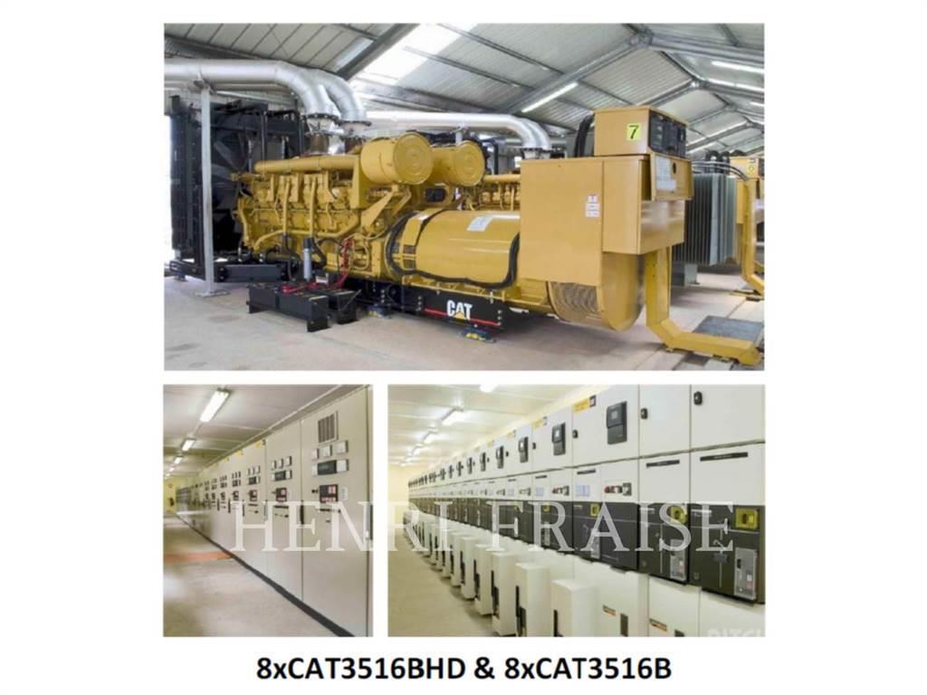 Caterpillar DIESEL-25MW-POWER-PLANT-CAT3516BHD