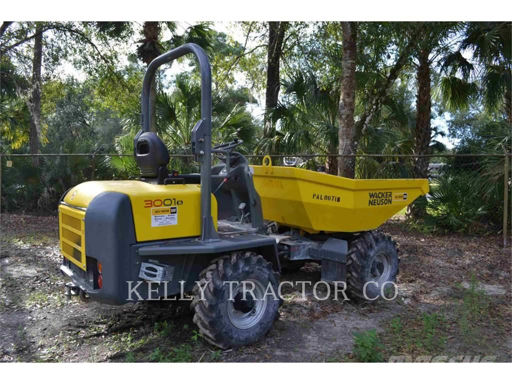 Wacker DUMPER3001, 2015, Golf Carts