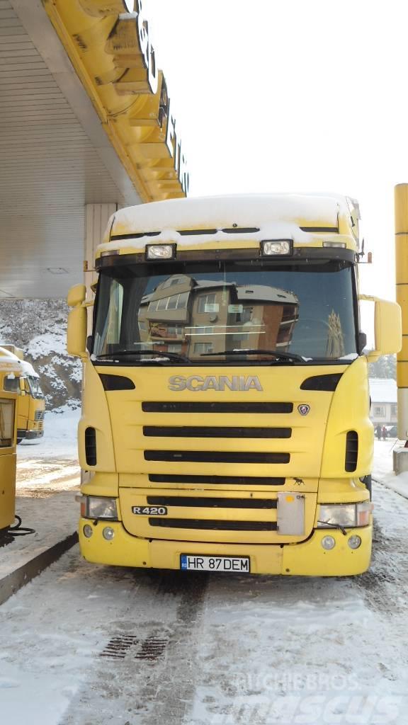 [Other] 5 x Scania R420+5 xScmitz Cargobul MEGA R 420 High