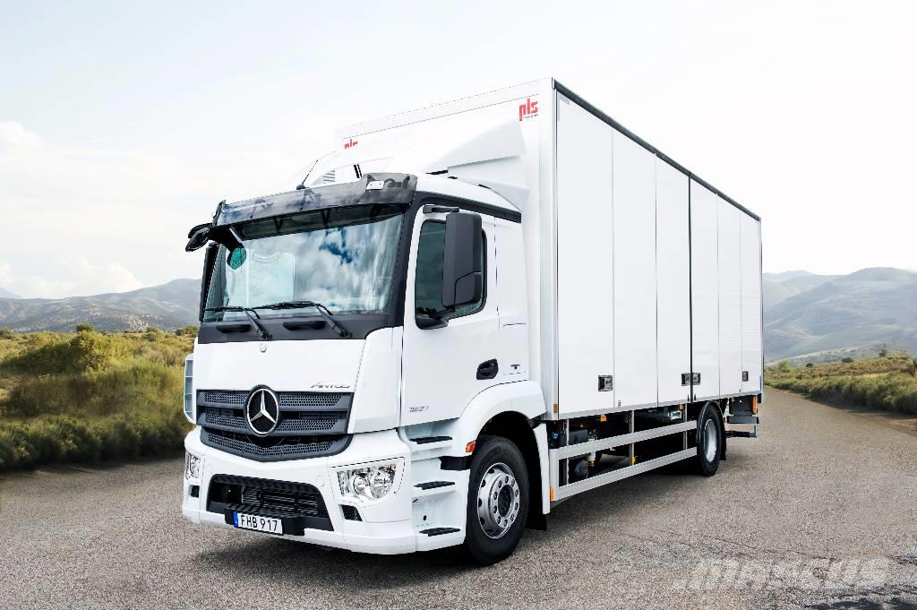 9b2221c42e Mercedes-Benz Antos 1827 L nR van Body Trucks Year of Mnftr  2017. Pre  Owned Van Body Trucks for sale - Mascus South Africa