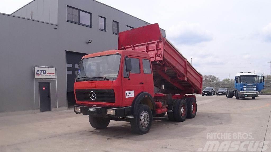 Mercedes-Benz SK 2628 (GRAND PONT / LAMES / V8-MOTEUR / 6X4 / PO