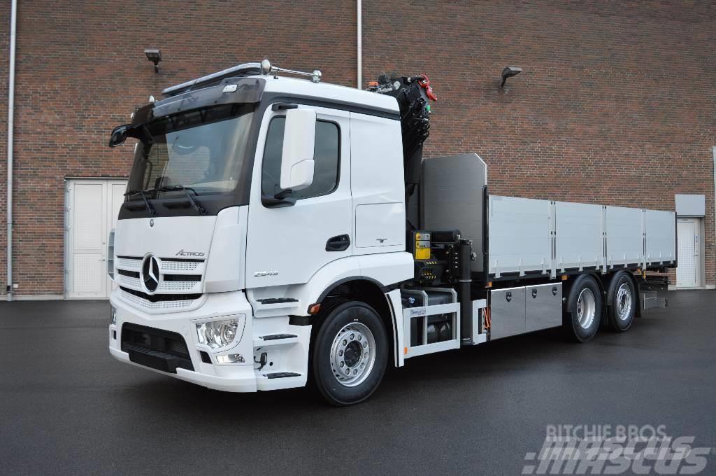 Mercedes-Benz Actros 2543 L 6X2 Palfinger PK26002E EH