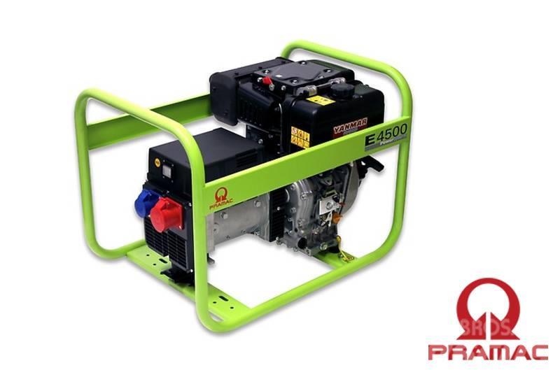 Pramac E4500 400/230V 4.7/3.1 kVA