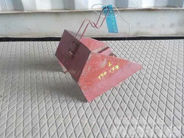Iveco Stralis Wheel chock bracket 41219282