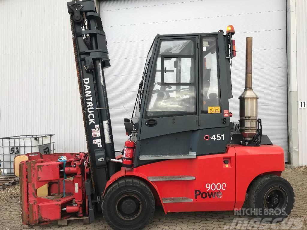Dantruck 9466A Evt. med gaffelslæde. (Jungheinrich DFG 660)