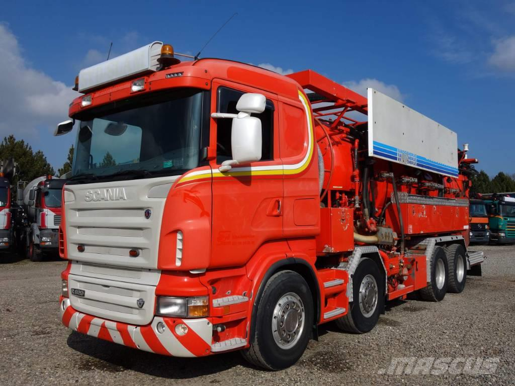 Scania R620 8x4 Helmers 13500 L Recycler