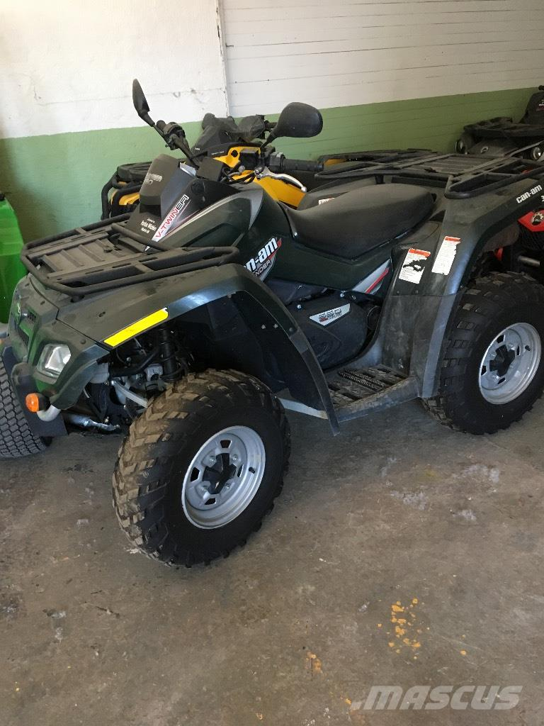 Can-am Outlander 650 EFI