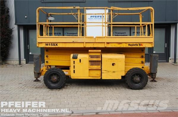 Haulotte H15SX Diesel, 4x4 Drive, 15m Working Height., Roug