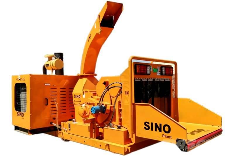 Sino Plant Wood Chipper 450x380 Diesel Engine