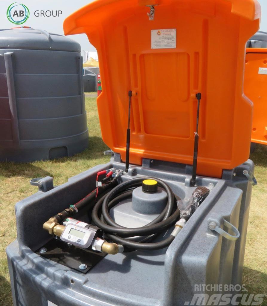 [Other] Diesel&Oil Mobile diesel fuel tank 600l/Tanque móv