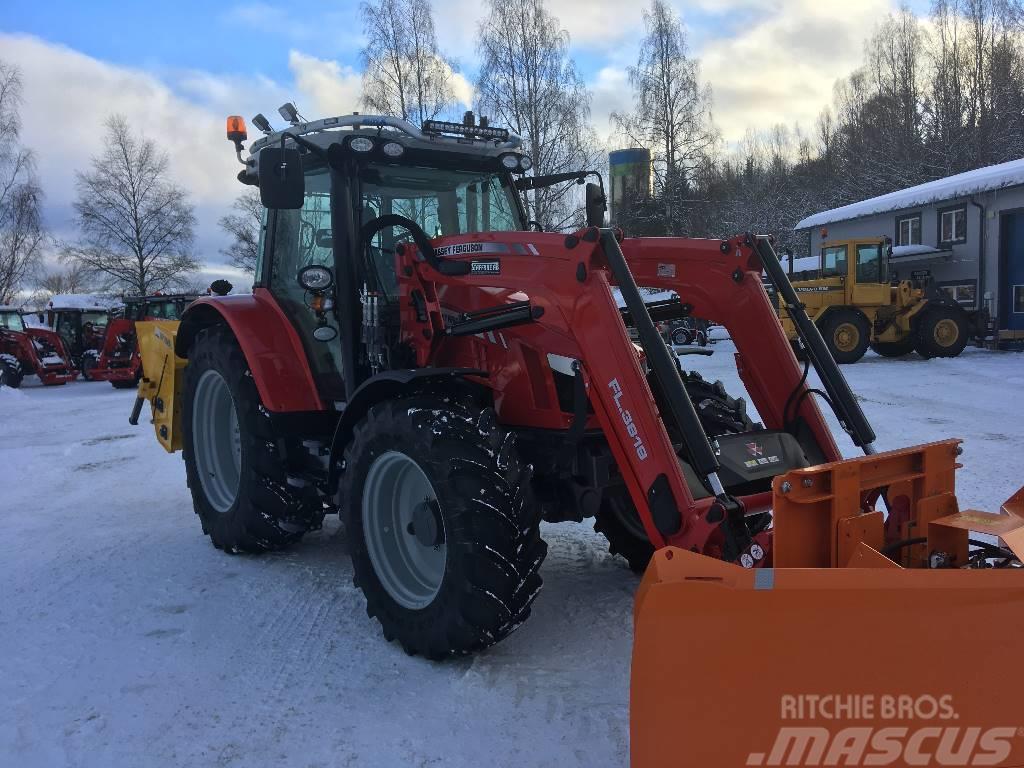 Massey Ferguson 5712 snöekipage