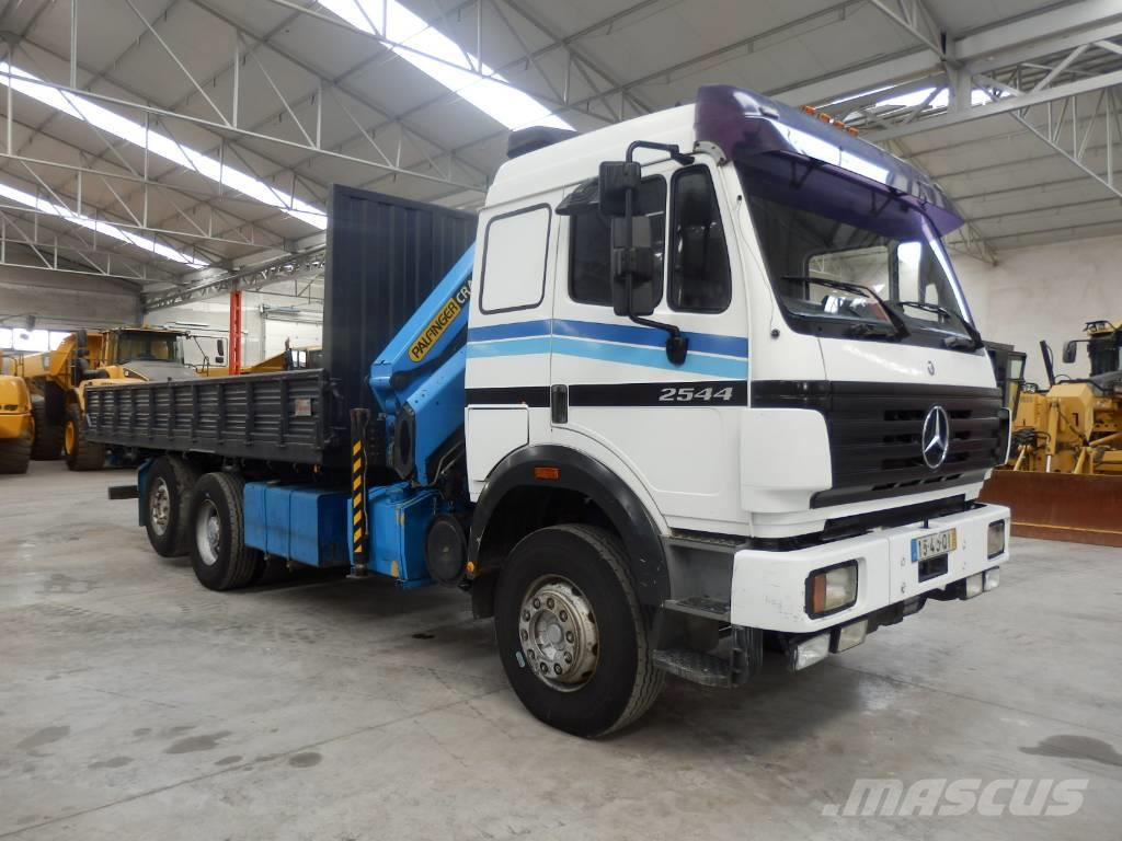 Mercedes-Benz 2544, 1995, Crane trucks ...