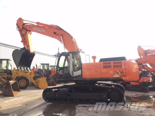 Used Hitachi Zx 350 3 Crawler Excavators Year 2007 For