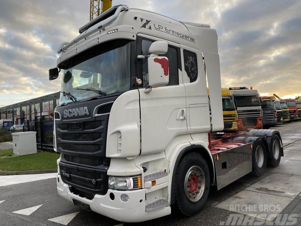 Scania R730 V8 6X4 EURO 5 + AD BLUE + RETARDER + KIEPHYDR
