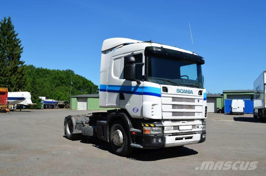 Scania R124 LA4X2NA 420 Manual