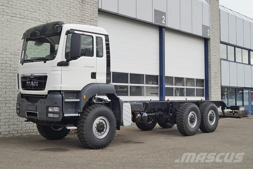 MAN TGS 33.400 BB-WW CHASSIS CABIN