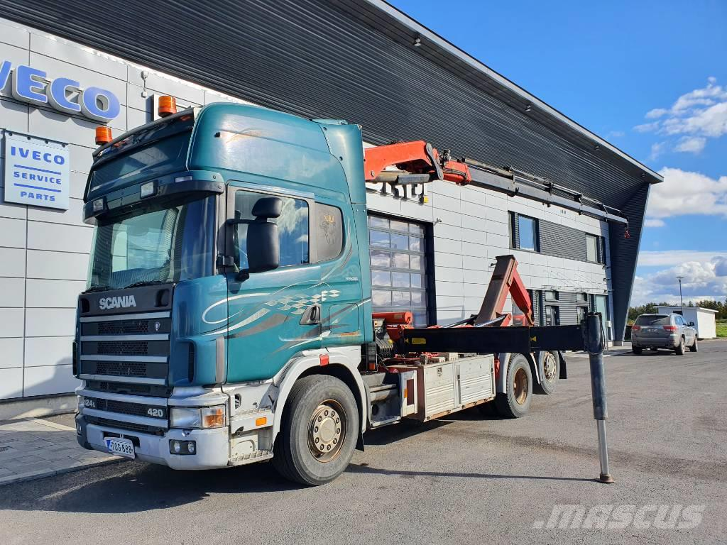Scania R 124 LB-6X2/470+136