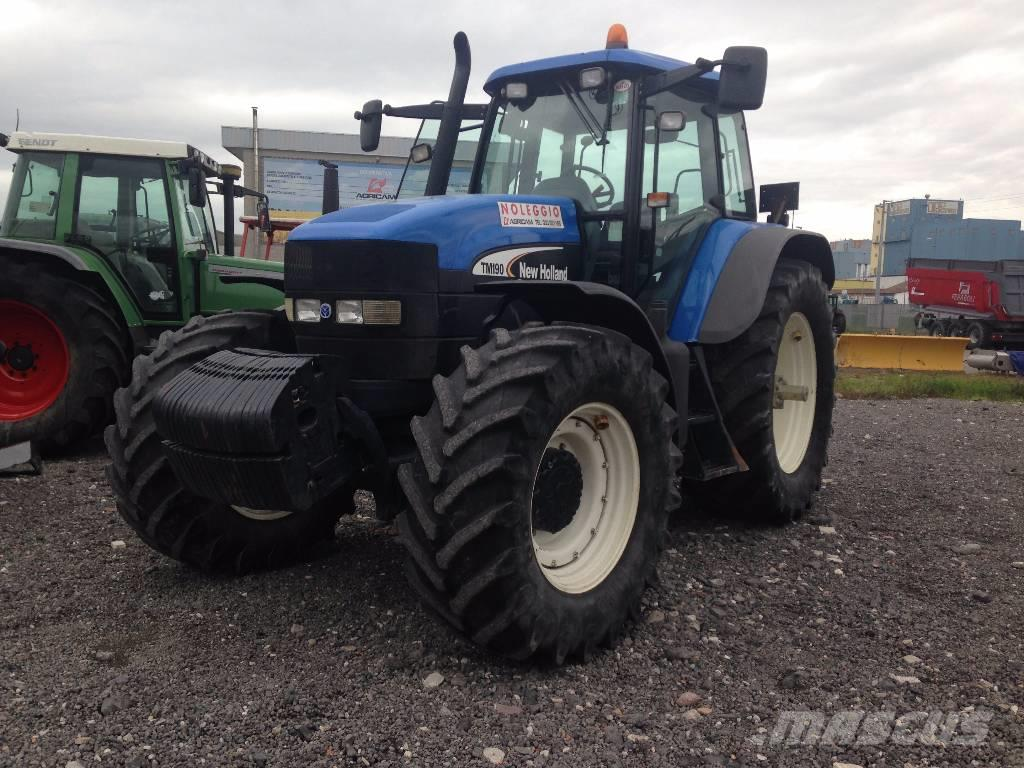 New Holland Tractors Used : Used new holland tm tractors year price