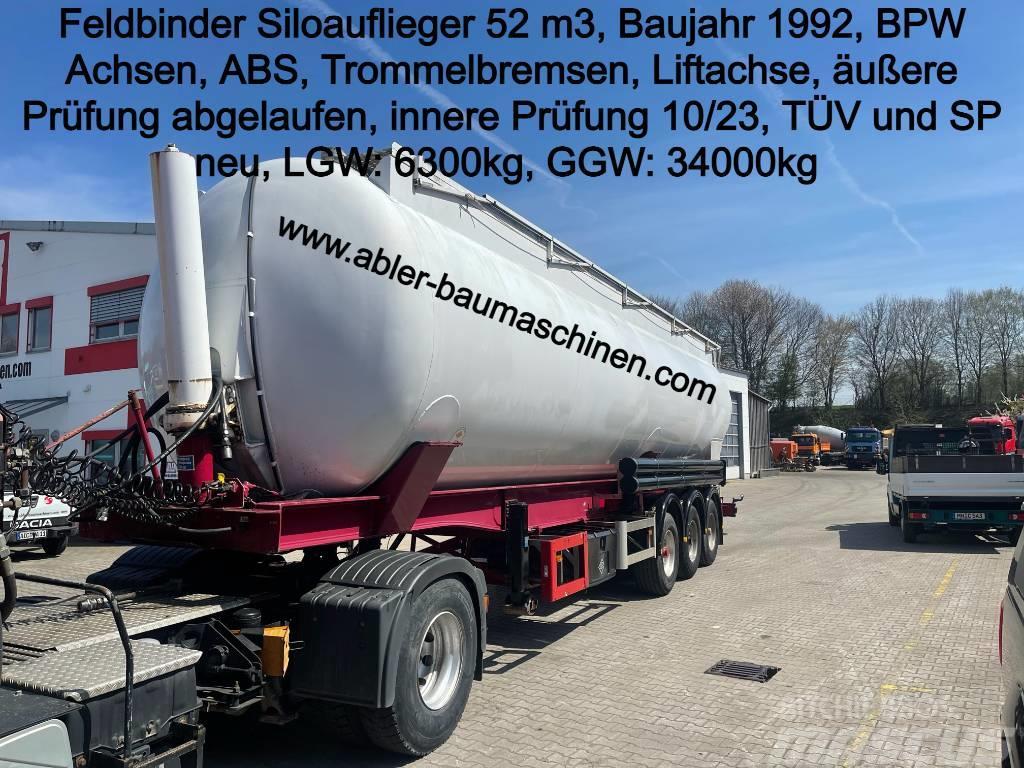 Feldbinder Siloauflieger 52 m3 TÜV+SP NEU