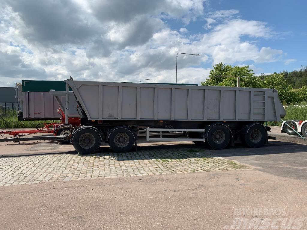 Benalu 4-axlad Tippsläpvagn 7 ton TP 87