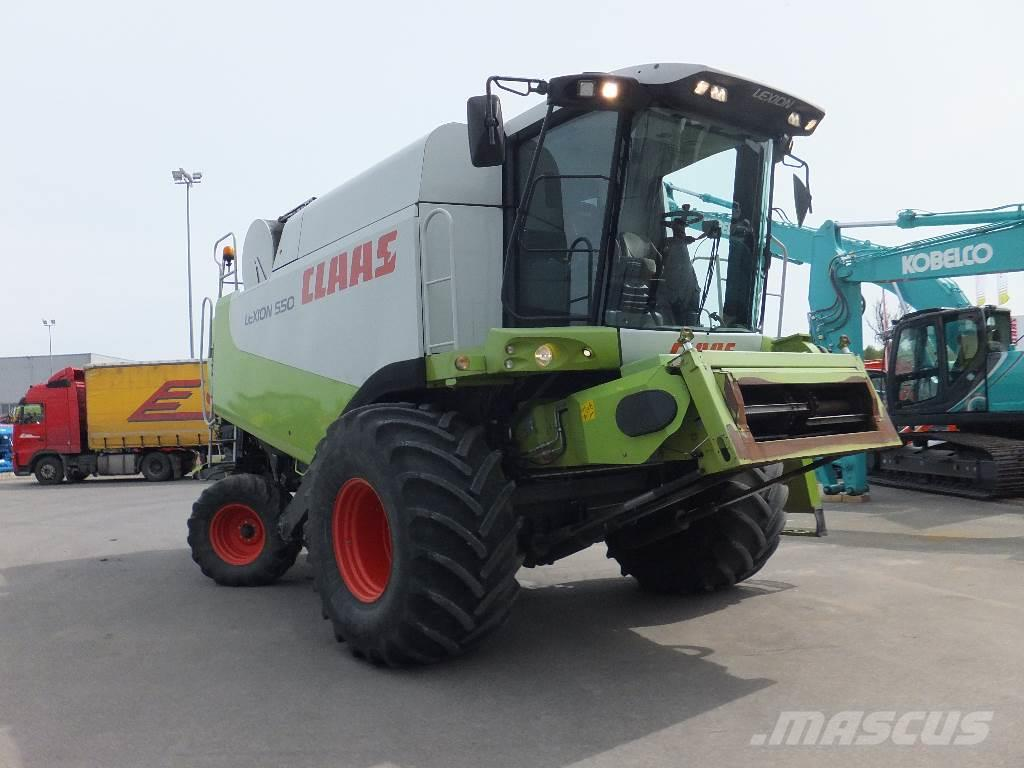Claas Lexion 550, 2007, Combine harvesters