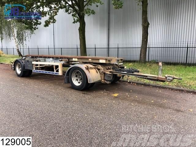 Trax Autonoom Container Transport, Steel suspension, Tr