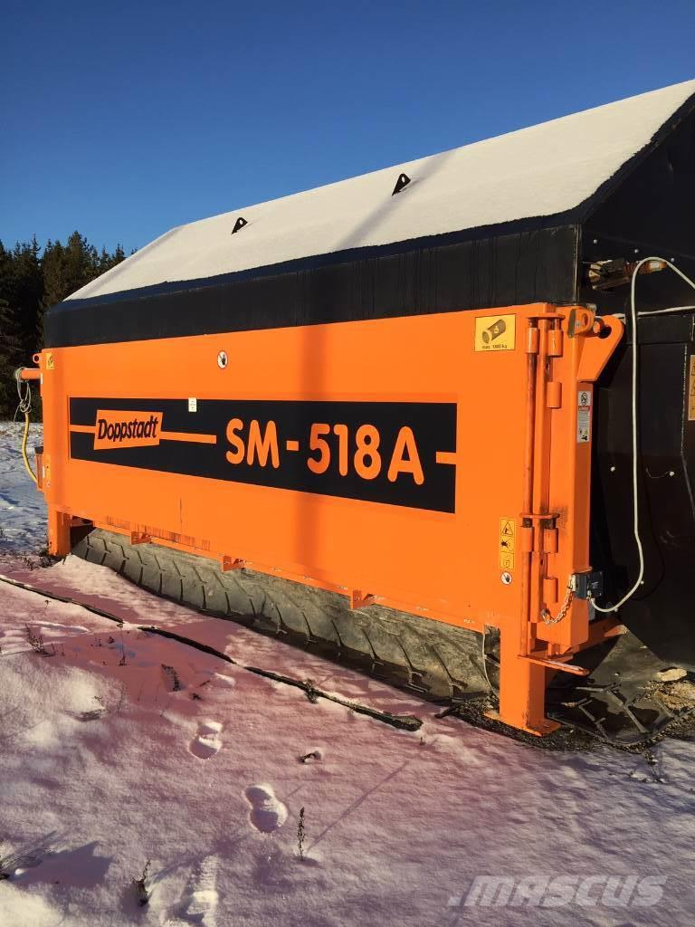 Doppstadt SM 518 static, electric driven