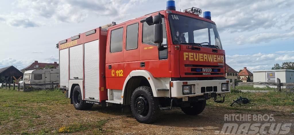 Iveco 4x4 Feuerwehr FF135E Autobomba