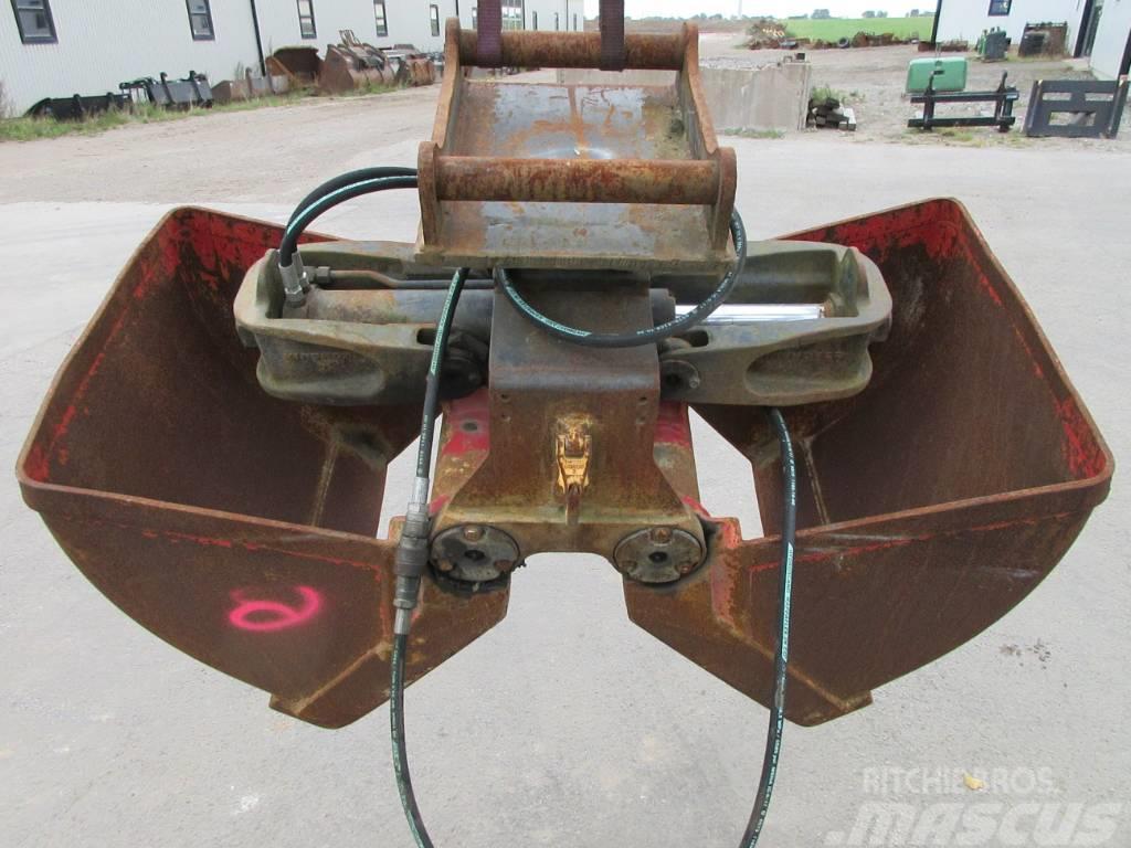 Kinshofer gripskopa, S45 hydrema grävfäste