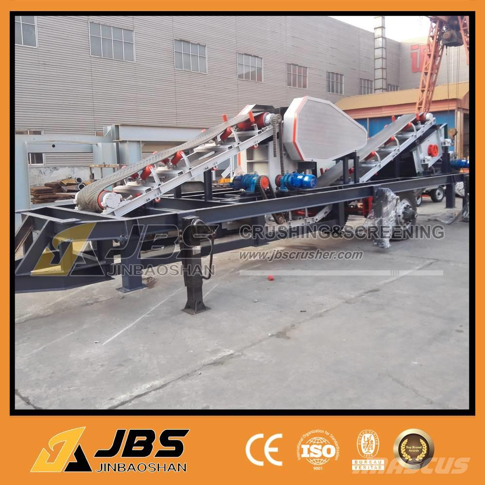 JBS MC2540 Mobile and screening plant 10tph