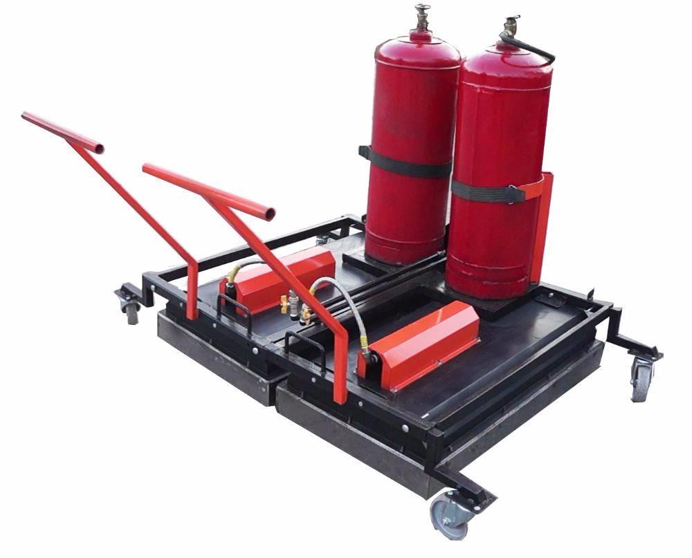 Ticab MIRA-1 Asphalt surface heater