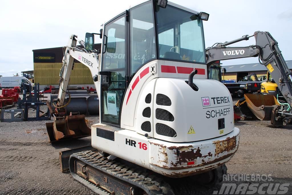 Terex HR 16 Minigrävare, 3,5 ton