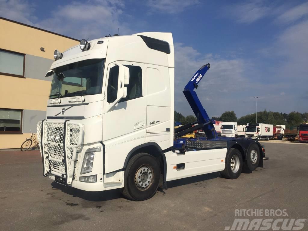 Volvo FH540 6x2+EURO6+JOAB MULTILIFT