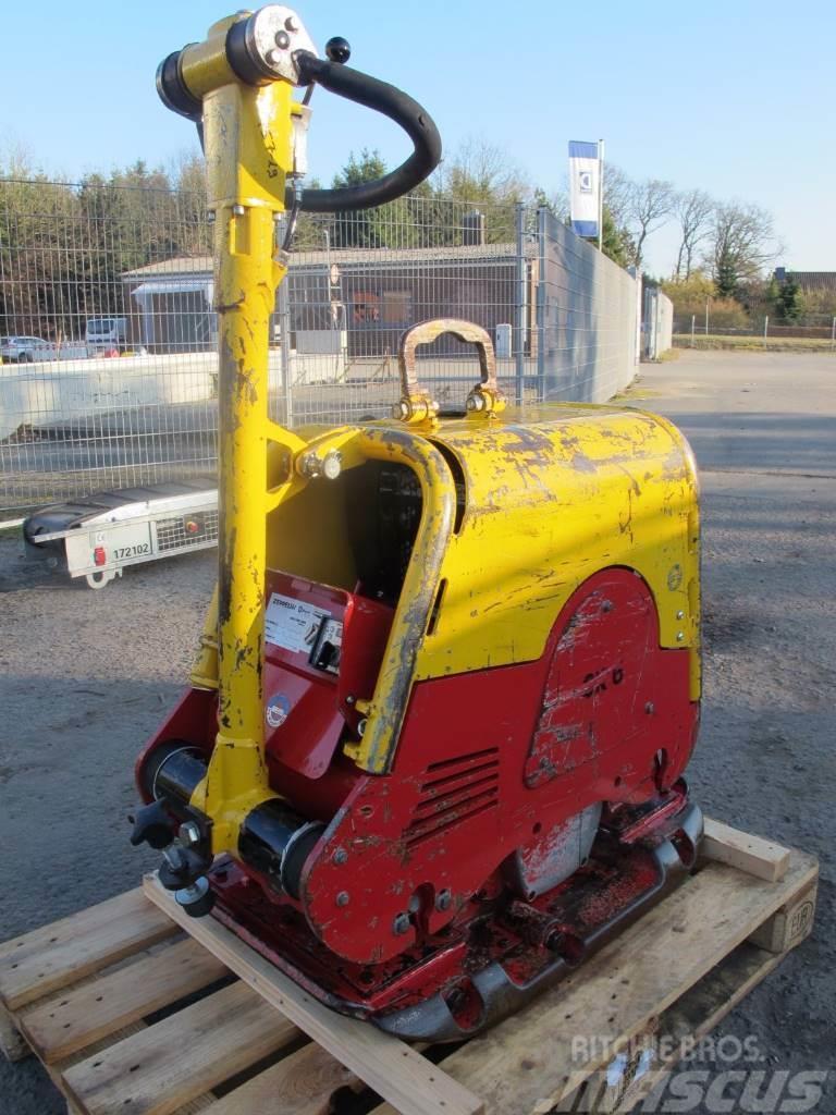 Weber CR 6H Rüttellplatte Bodenverdichter 412 KG Hatz