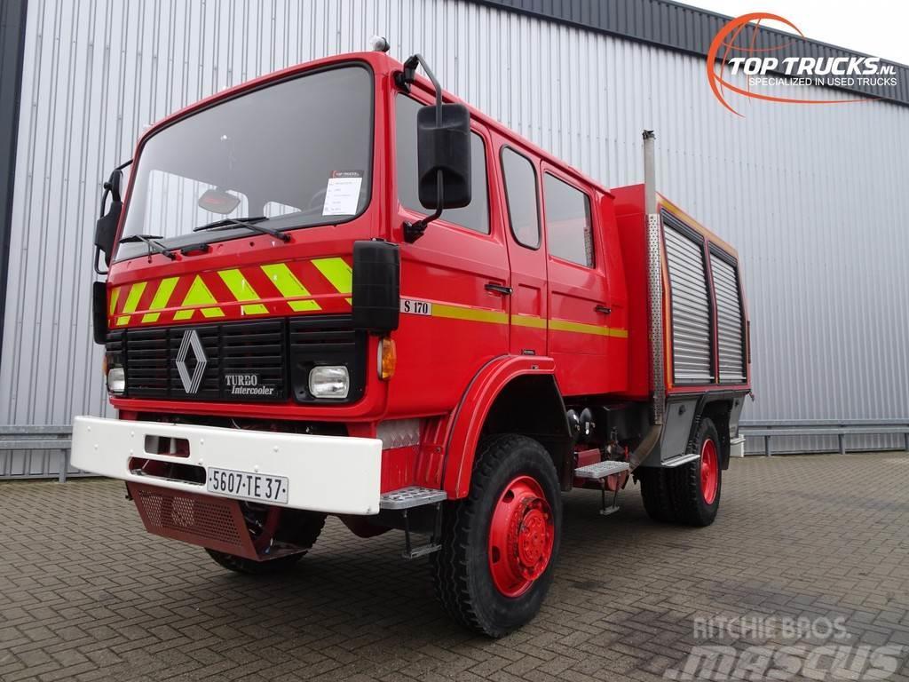 Renault S170 4x4 fire brigade - brandweer - feuerwehr - wa