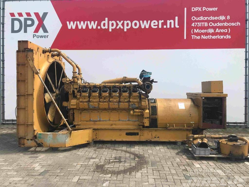 Caterpillar 3512 - 1275 kVA Generator - DPX-11837