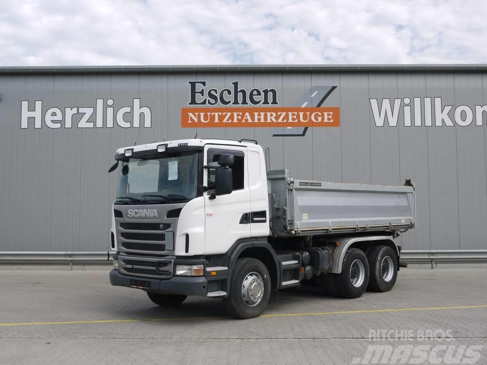 Scania G 420 / 6x4, Obj.-Nr.: 0168/19