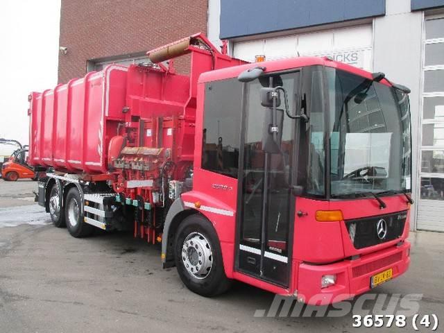 Mercedes-Benz ECONIC 2629 Euro 5 als chassis cabine