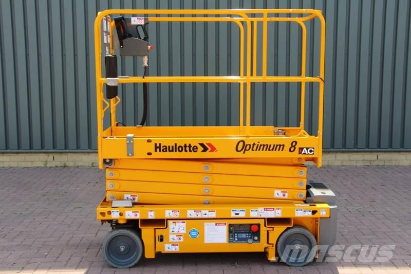Haulotte OPTIMUM 8AC Electric, 7.80 m Working Height, Also