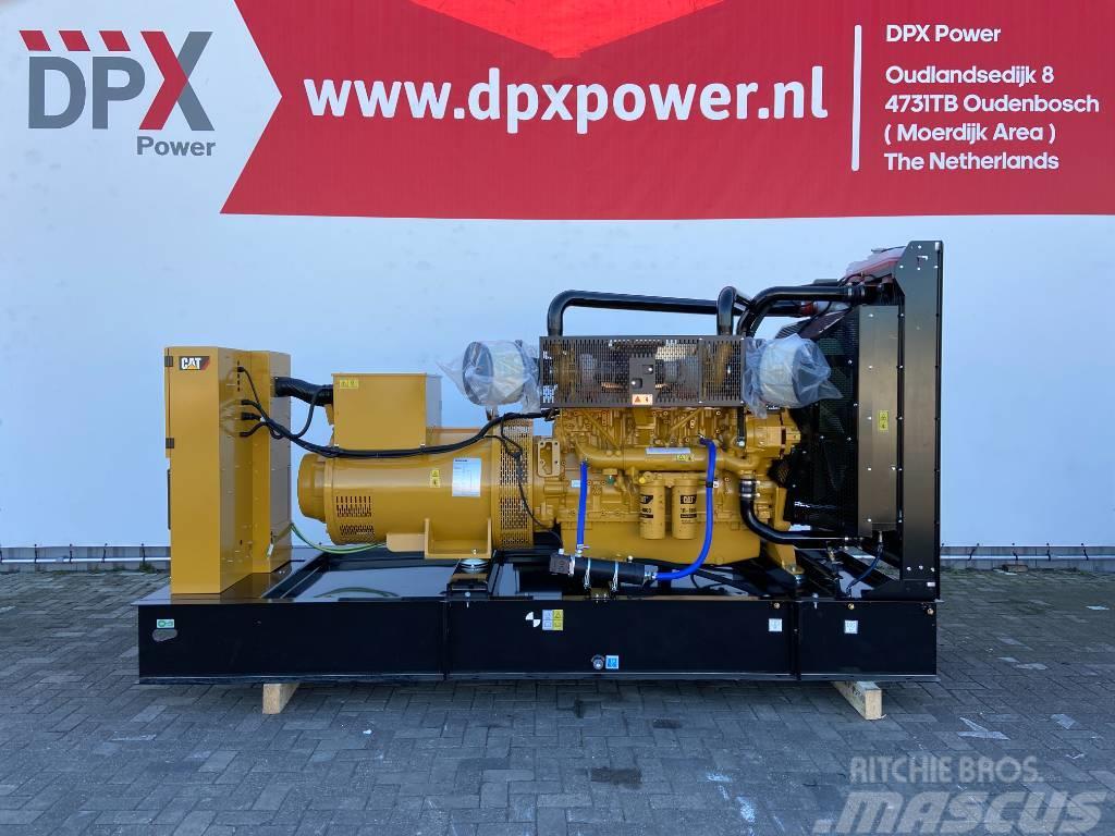 Caterpillar C18 - 715 kVA Open Generator Set - DPX-18030-O