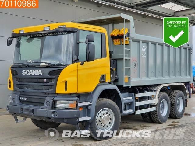 Scania P410 6X4 Manual Big-Axle Steelsuspension Euro 3