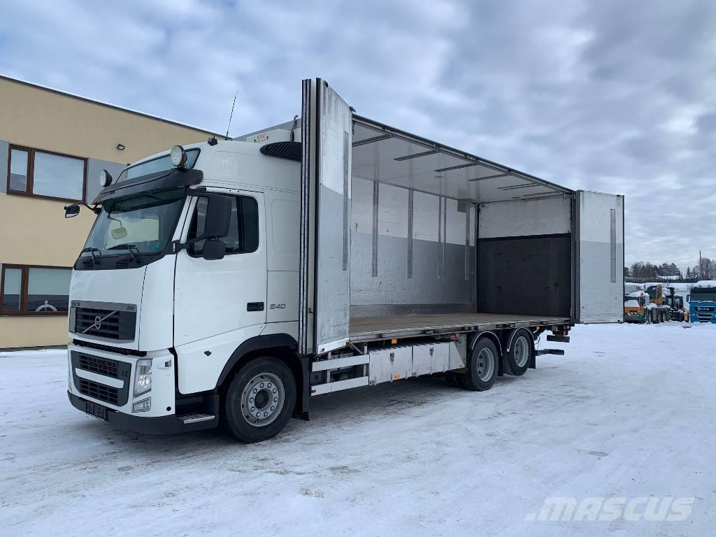 Volvo FH540 6x2+SIDE OPENING+DOUBLE STOCK