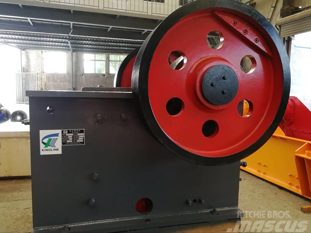 Kinglink PE-500x750 Primary Stone Jaw Crusher