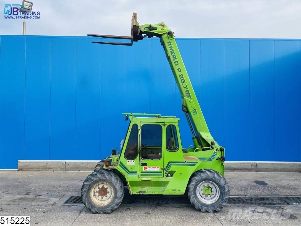 Merlo P25.7 4x4, 7 mtr, 2500 kg, 53 KW