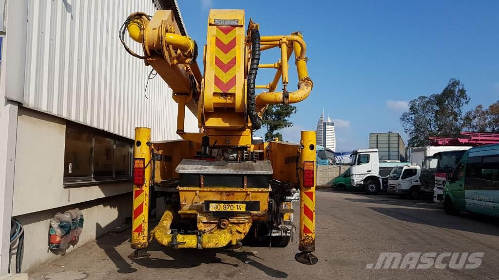 Used Schwing S58X concrete pump trucks Year: 2006 for sale - Mascus USA
